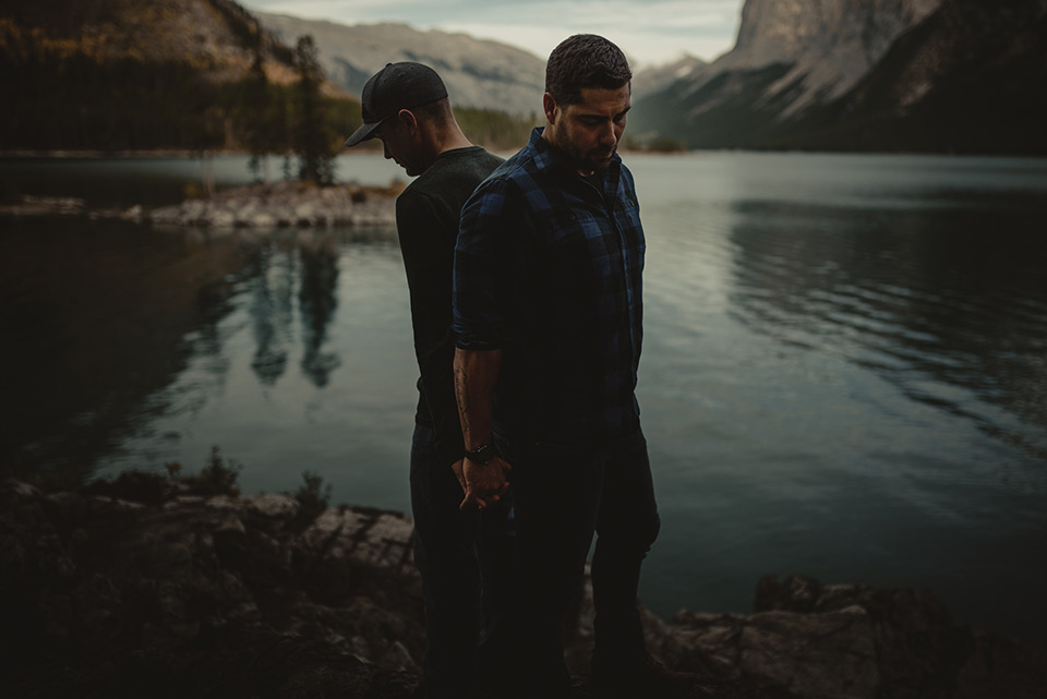 Gio Ledda Photography - Gary & Aaron: Banff Engagement