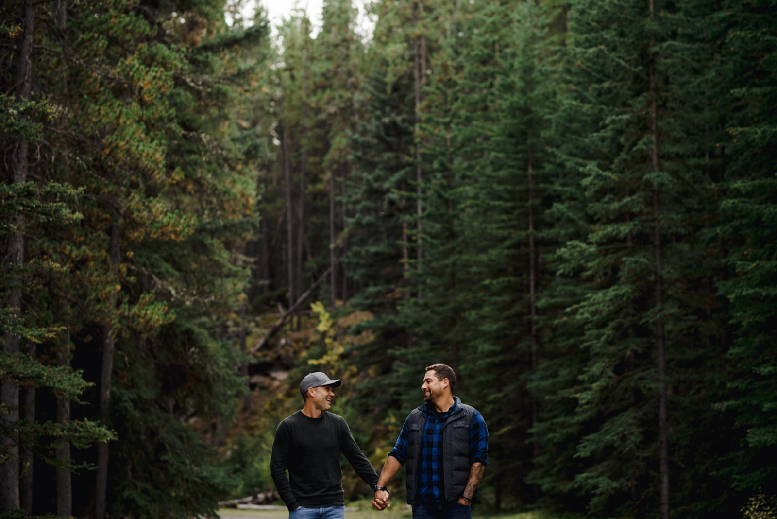 The Leddas Wedding Photography - Gary & Aaron: Banff Engagement