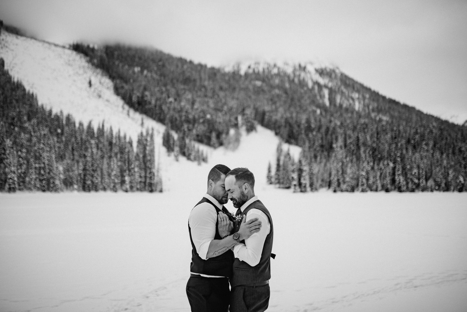 The Leddas Wedding Photography - Gary & Aaron: Emerald Lake Wedding
